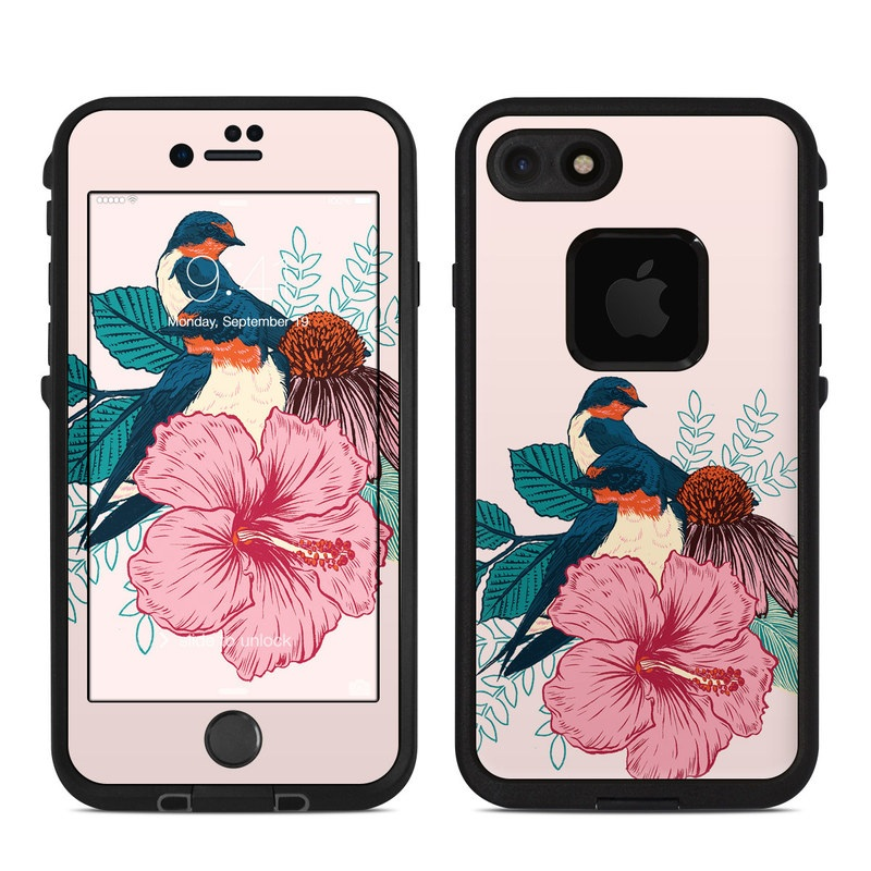 Barn Swallows LifeProof iPhone 8 fre Case Skin