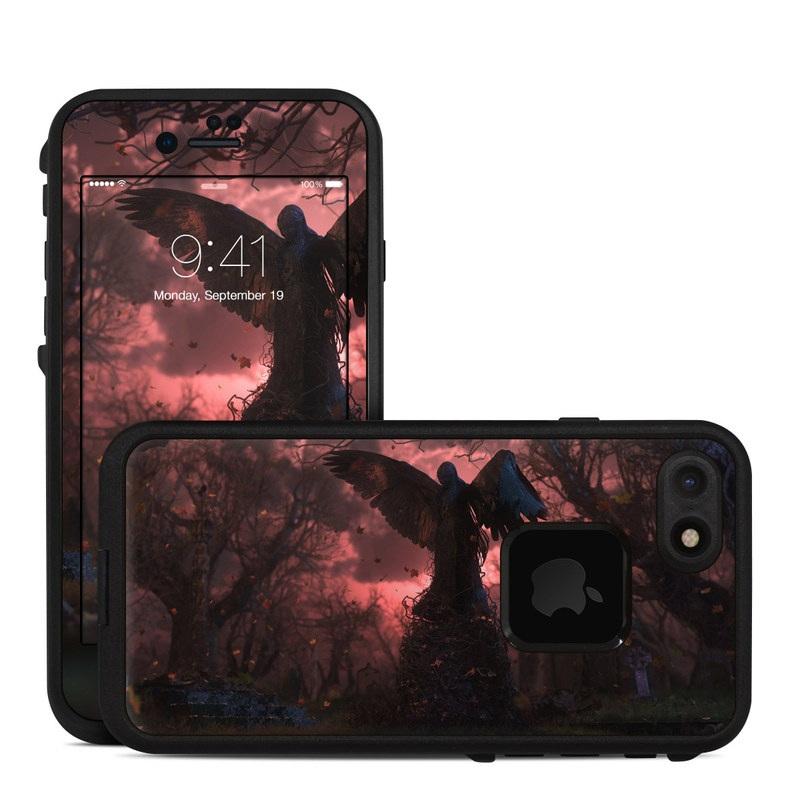 Black Angel LifeProof iPhone 7 fre Case Skin