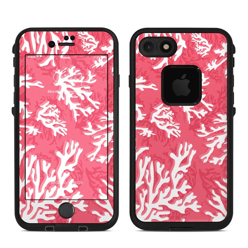 Coral Reef LifeProof iPhone 8 fre Case Skin