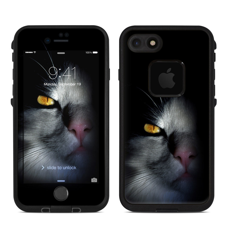 Darkness LifeProof iPhone 8 fre Case Skin