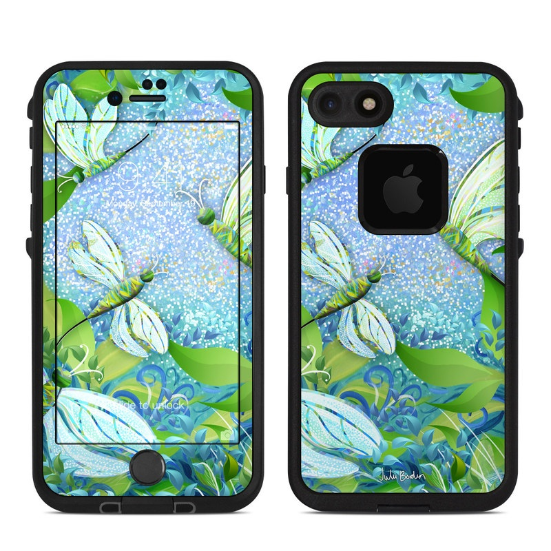 Dragonfly Fantasy LifeProof iPhone 8 fre Case Skin