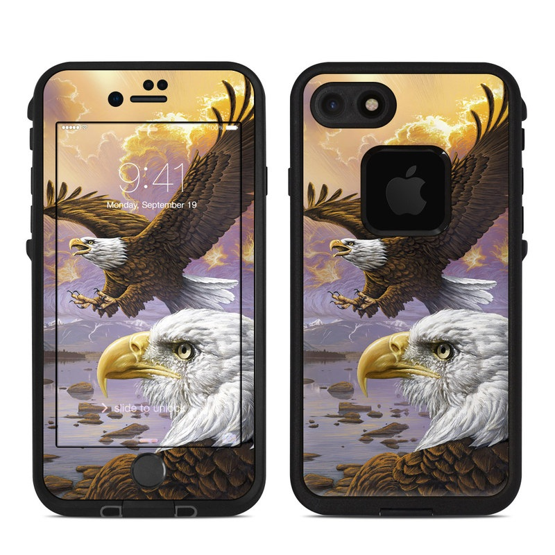 Eagle LifeProof iPhone 8 fre Case Skin