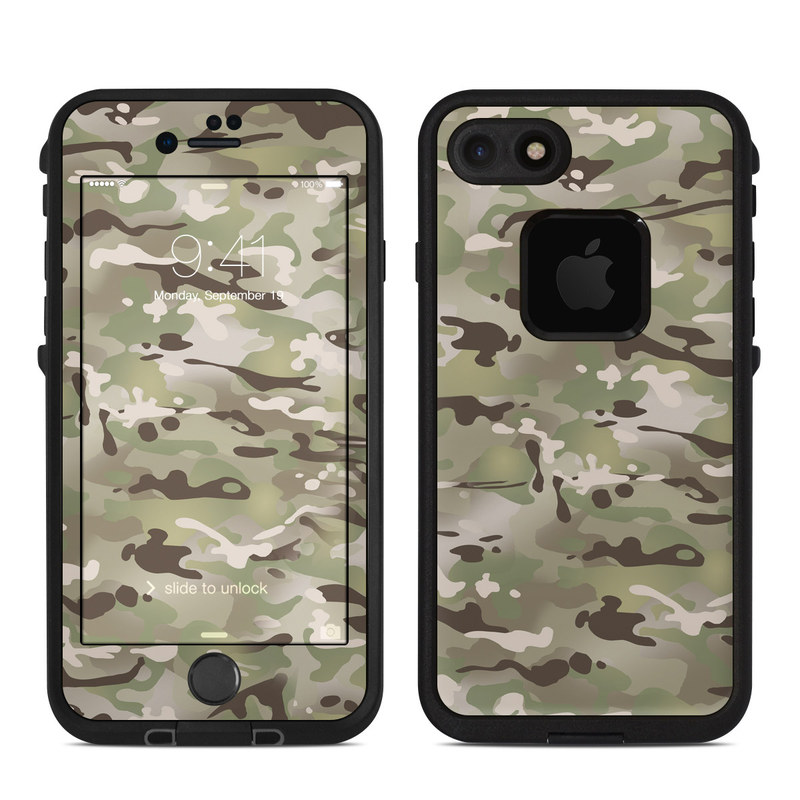 FC Camo LifeProof iPhone 8 fre Case Skin