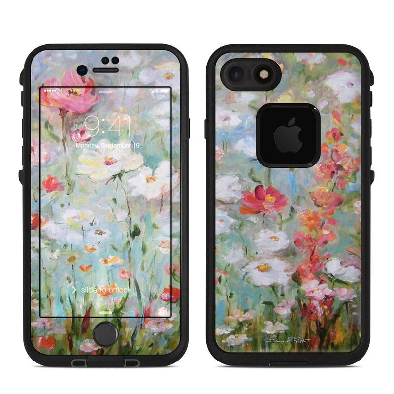 Flower Blooms LifeProof iPhone 8 fre Case Skin