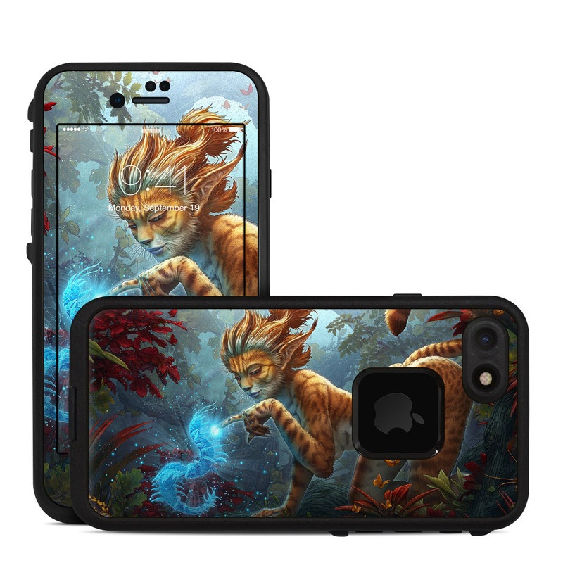 Ghost Centipede LifeProof iPhone 8 fre Case Skin