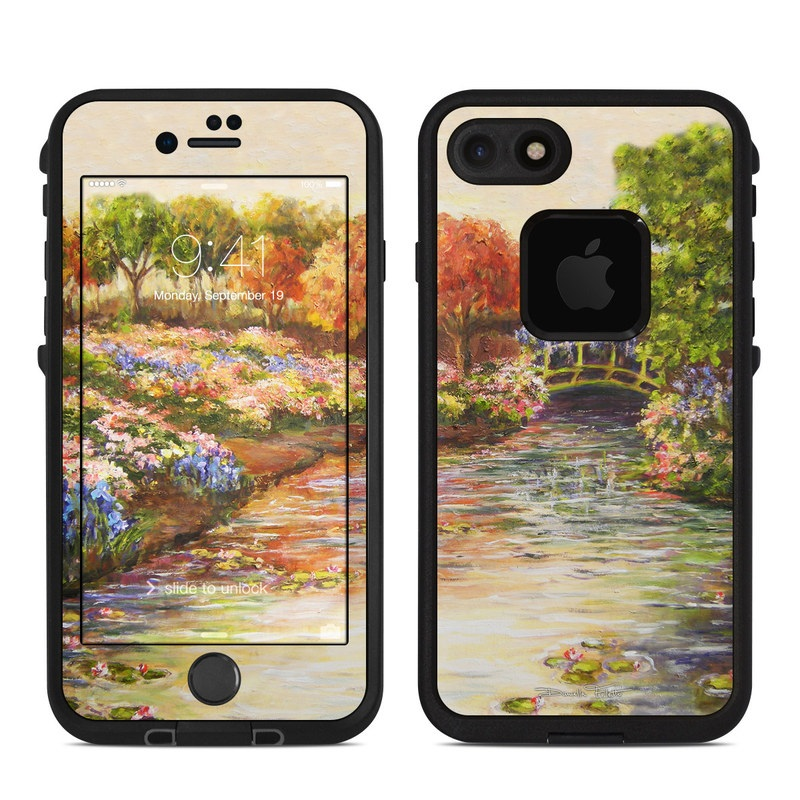 Giverny Forever LifeProof iPhone 8 fre Case Skin