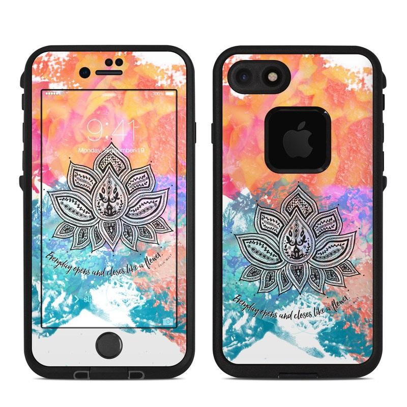 Happy Lotus LifeProof iPhone 8 fre Case Skin
