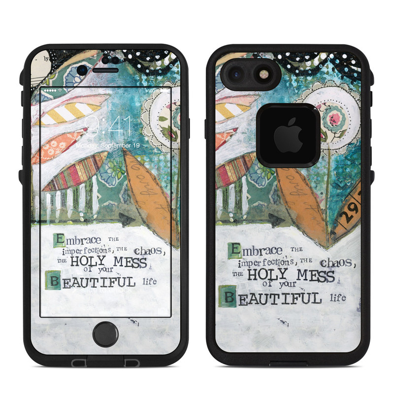 Holy Mess LifeProof iPhone 8 fre Case Skin