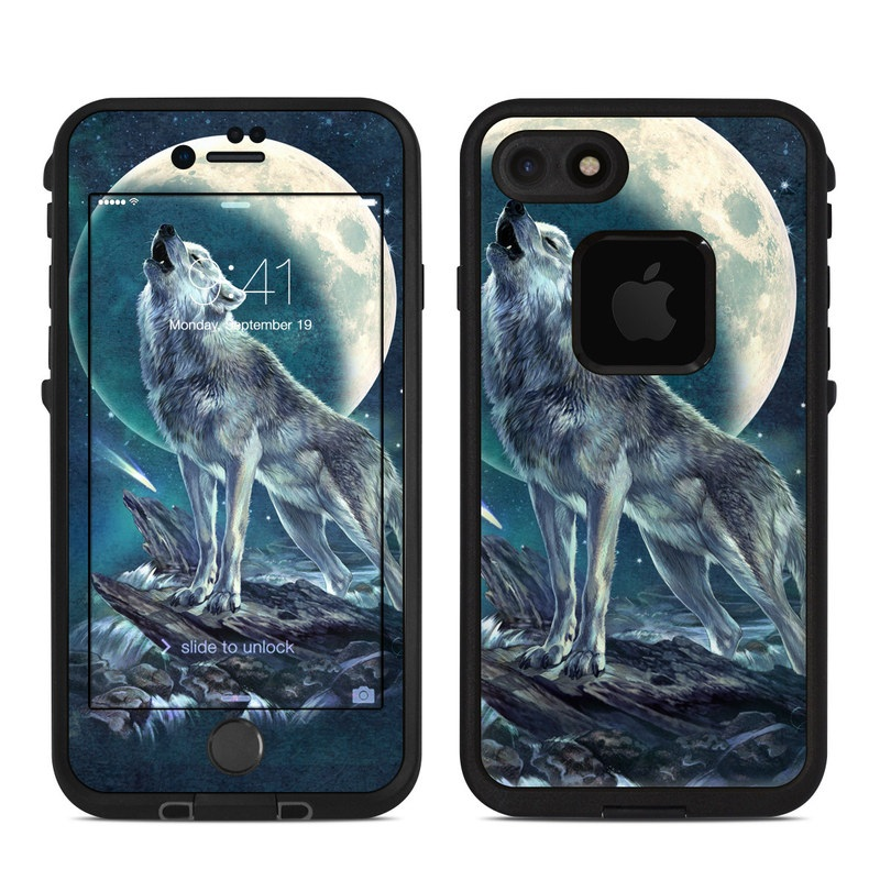 Howling Moon Soloist LifeProof iPhone 8 fre Case Skin