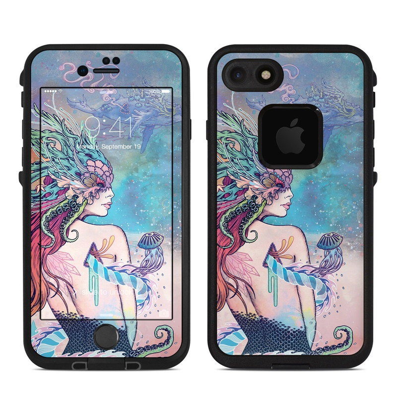 Last Mermaid LifeProof iPhone 8 fre Case Skin