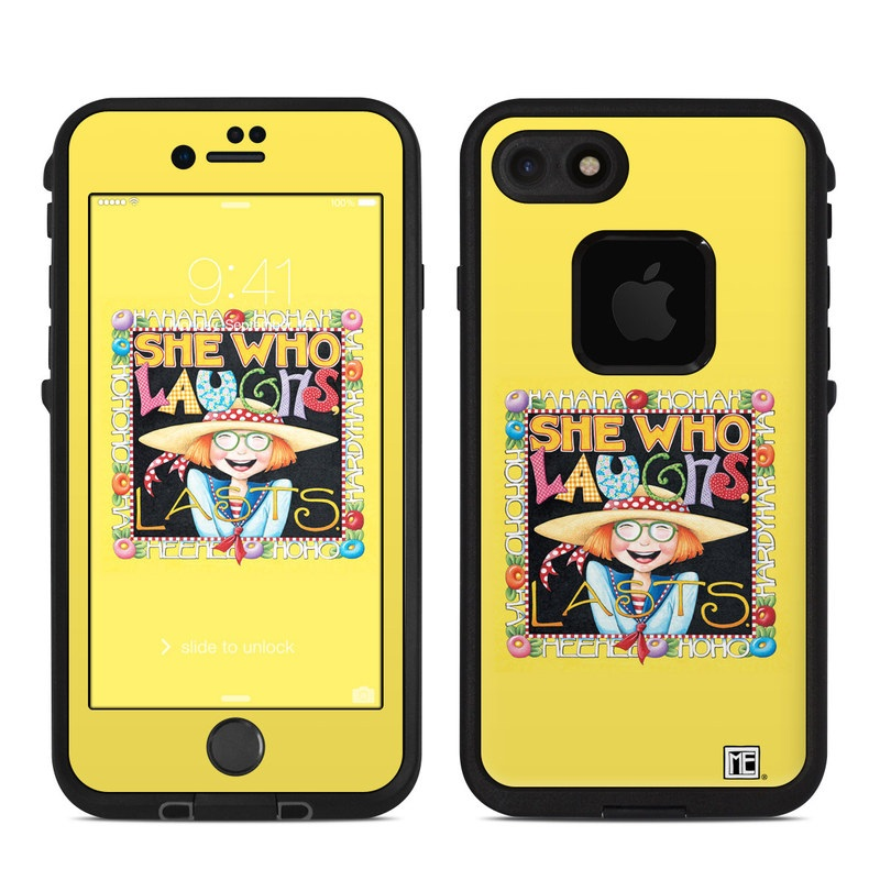 She Who Laughs LifeProof iPhone 8 fre Case Skin