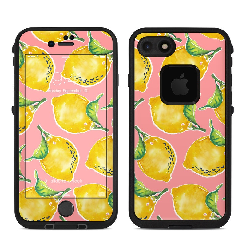 Lemon LifeProof iPhone 7 fre Case Skin