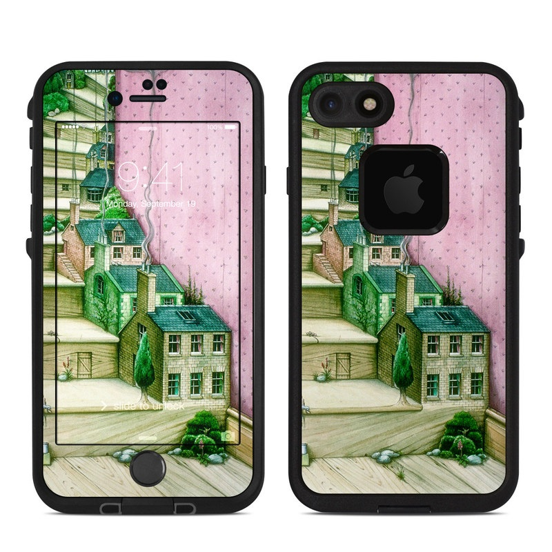 Living Stairs LifeProof iPhone 8 fre Case Skin