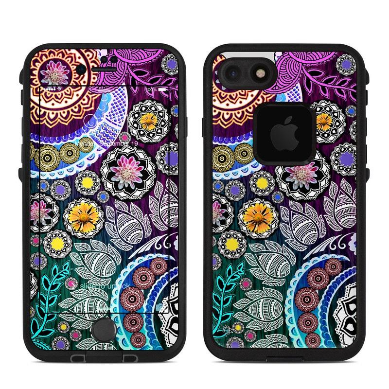 Mehndi Garden LifeProof iPhone 7 fre Case Skin