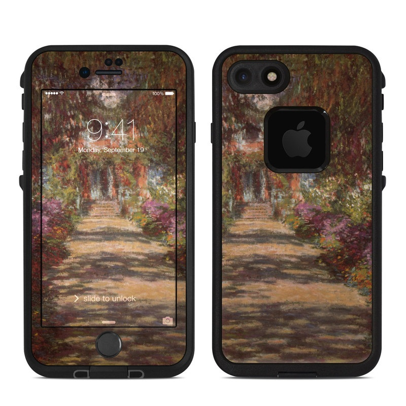 Garden at Giverny LifeProof iPhone 8 fre Case Skin