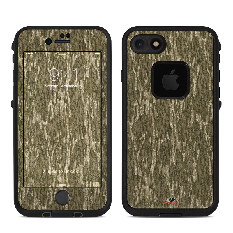 LifeProof iPhone 8 fre Case Skin design of Grass, Brown, Grass family, Plant, Soil with black, red, gray colors