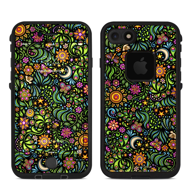 Nature Ditzy LifeProof iPhone 7 fre Case Skin