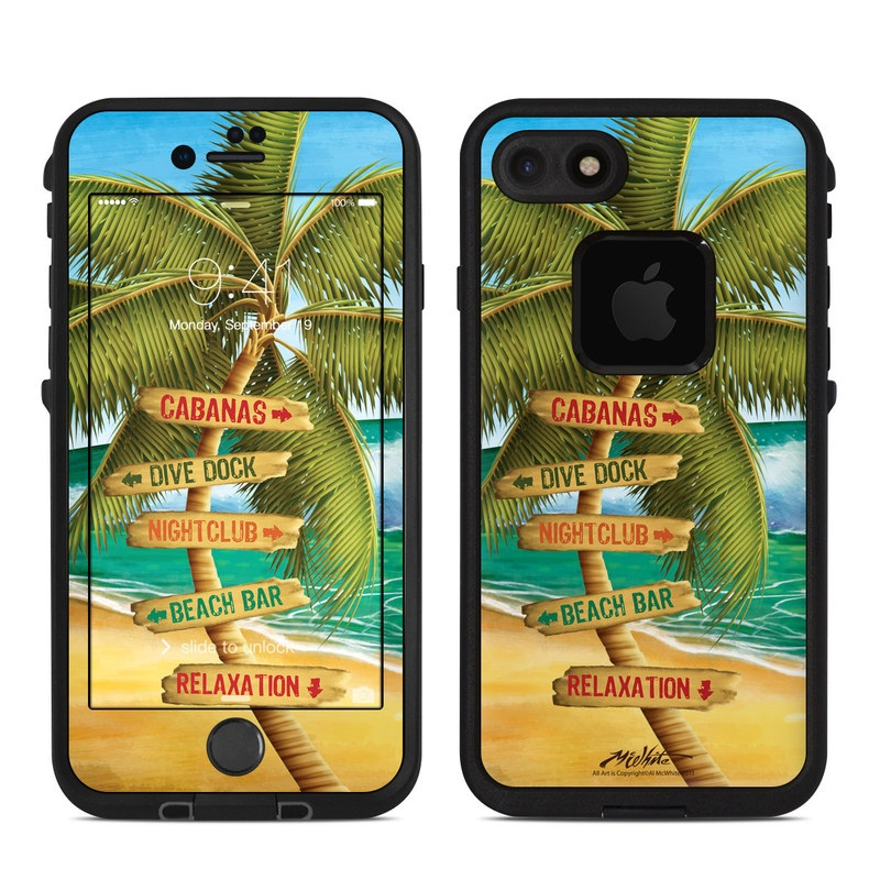 Palm Signs LifeProof iPhone 8 fre Case Skin