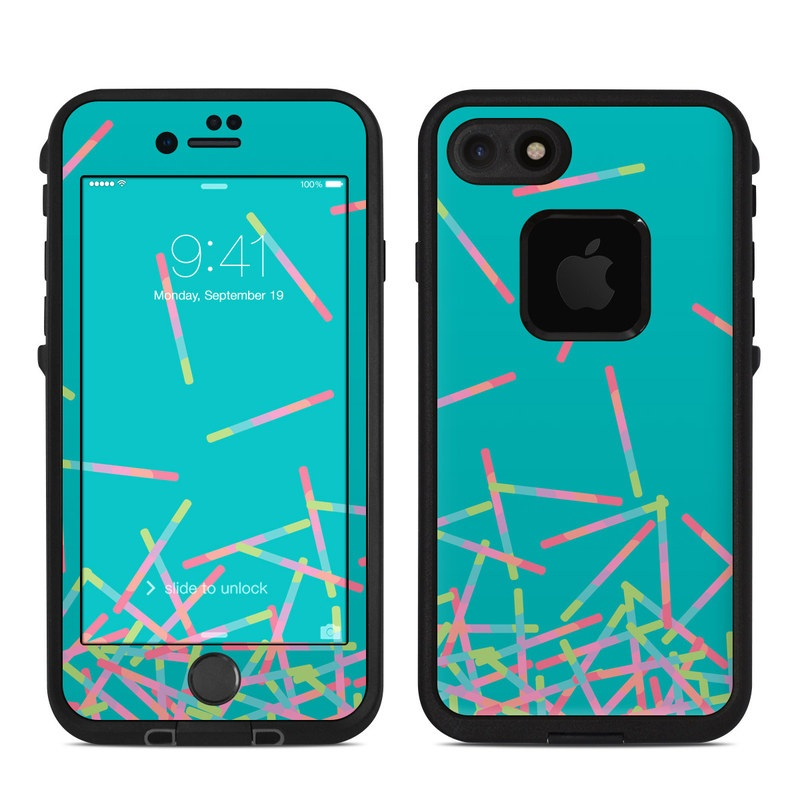 Pop Rocks Wands LifeProof iPhone 8 fre Case Skin