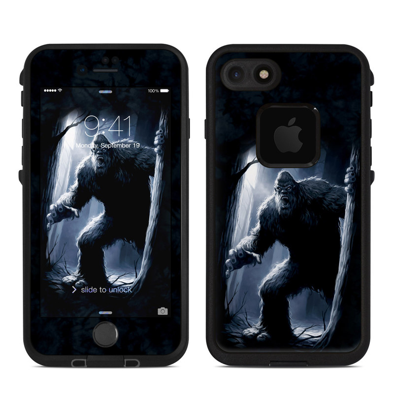 Sasquatch LifeProof iPhone 7 fre Case Skin