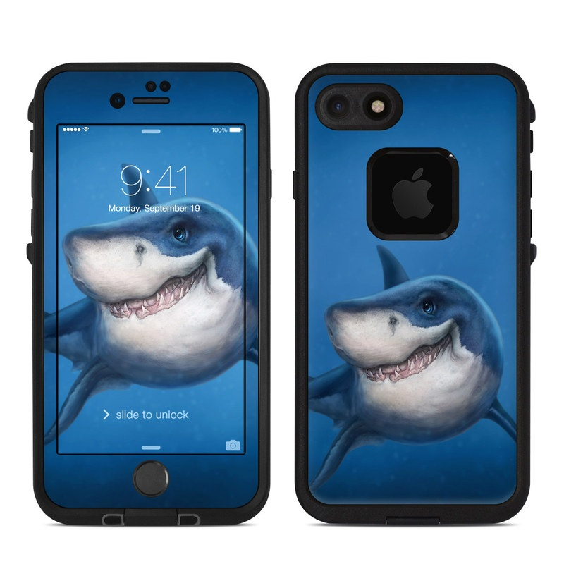 Shark Totem LifeProof iPhone 8 fre Case Skin