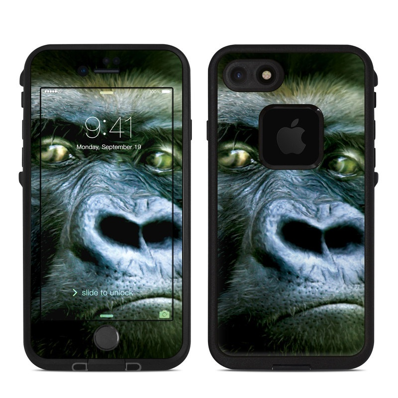 Silverback LifeProof iPhone 7 fre Case Skin