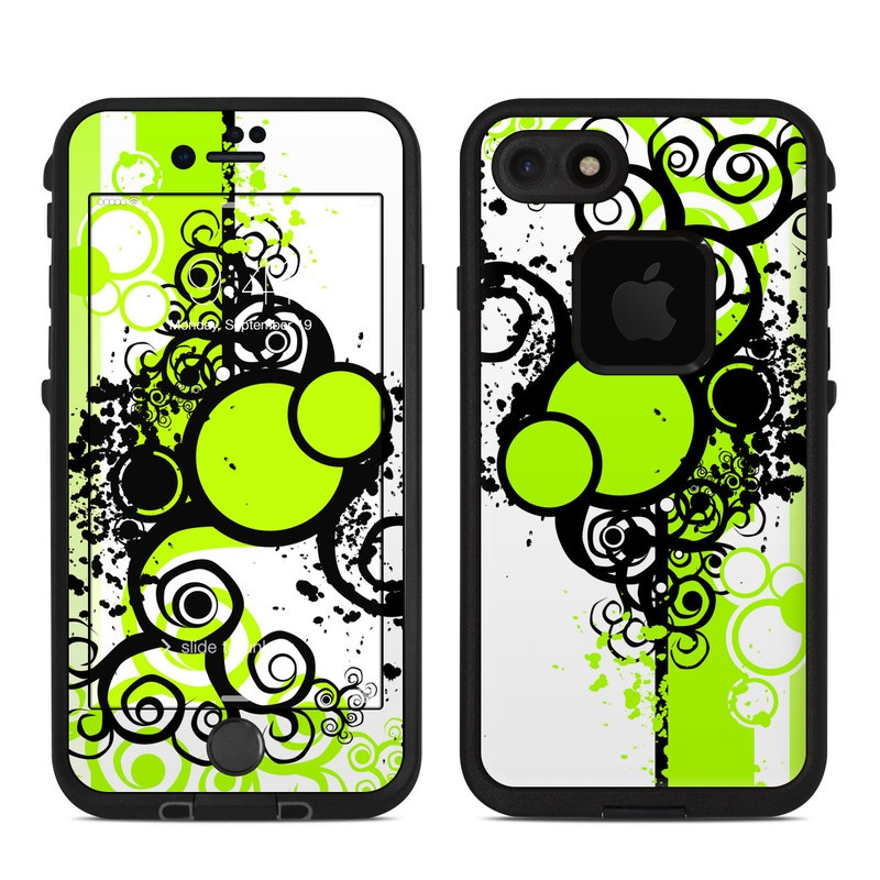 Simply Green LifeProof iPhone 8 fre Case Skin
