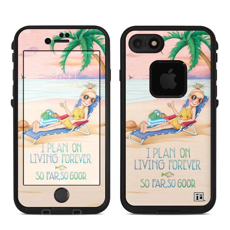 So Far So Good LifeProof iPhone 8 fre Case Skin