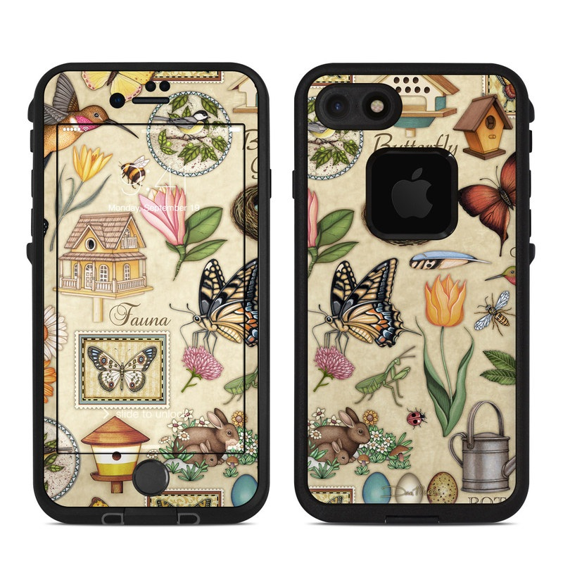 Spring All LifeProof iPhone 8 fre Case Skin