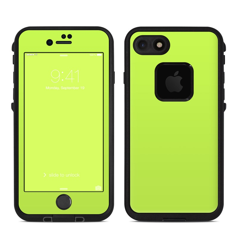the latest 390ab 9d166 Solid State Lime LifeProof iPhone 8 fre Case Skin