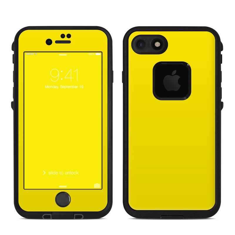 wholesale dealer 53fcc 082ca Solid State Yellow LifeProof iPhone 8 fre Case Skin