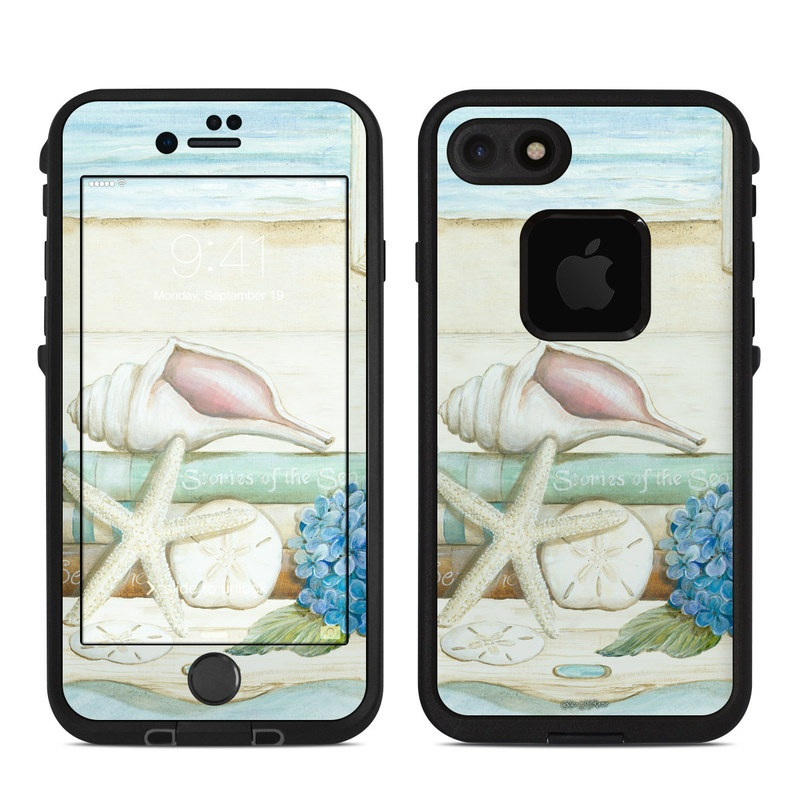 Stories of the Sea LifeProof iPhone 7 fre Case Skin