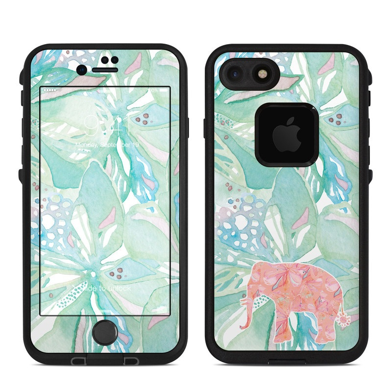 Tropical Elephant LifeProof iPhone 7 fre Case Skin