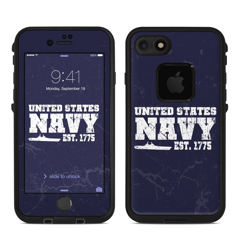 USN 1775 LifeProof iPhone 7 fre Case Skin