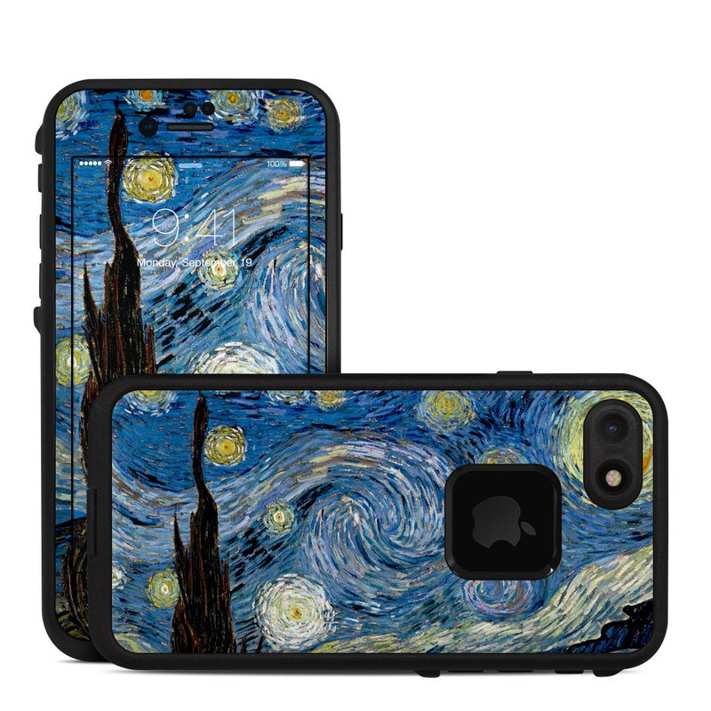 Starry Night LifeProof iPhone 8 fre Case Skin