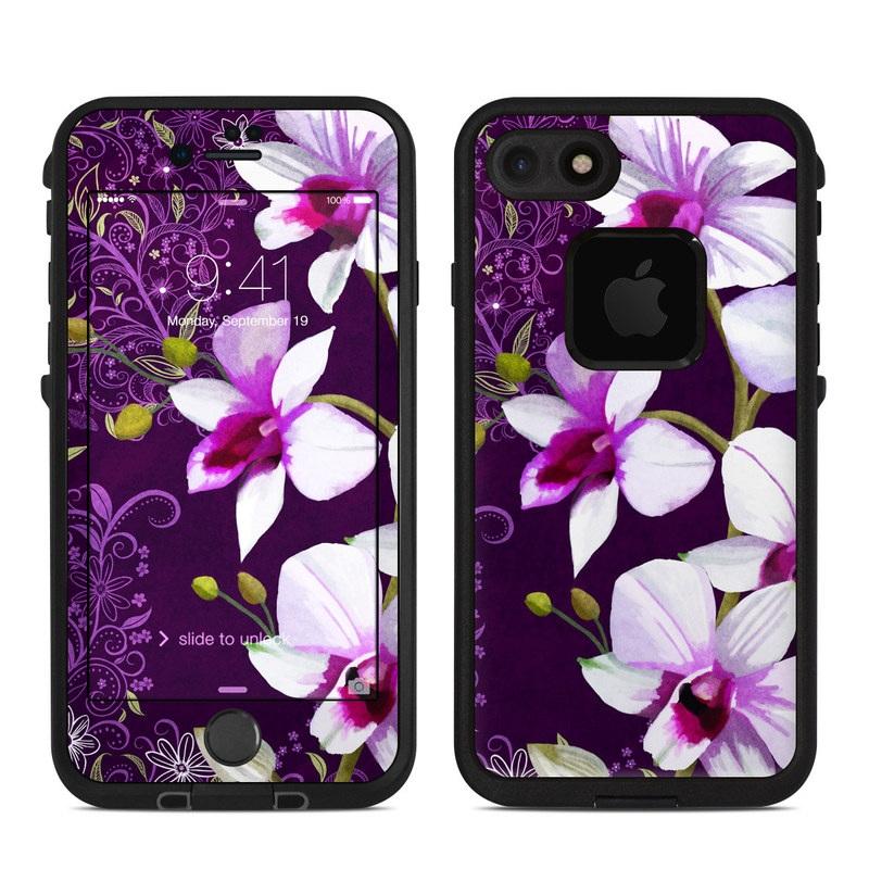 Violet Worlds LifeProof iPhone 8 fre Case Skin