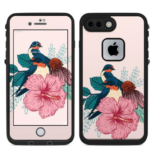 Barn Swallows LifeProof iPhone 7 Plus fre Case Skin