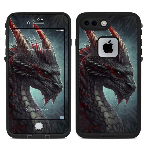 Black Dragon LifeProof iPhone 8 Plus fre Case Skin