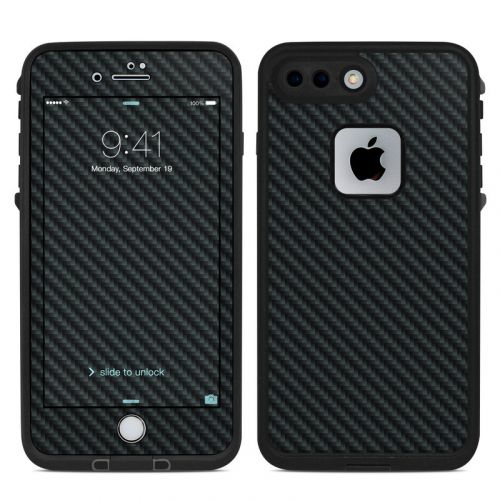 Carbon LifeProof iPhone 8 Plus fre Case Skin