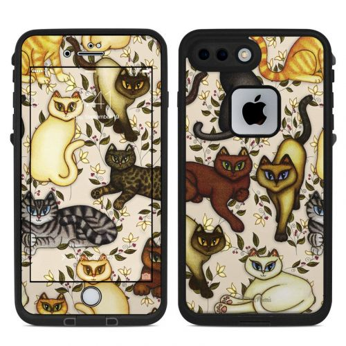 Cats LifeProof iPhone 7 Plus fre Case Skin