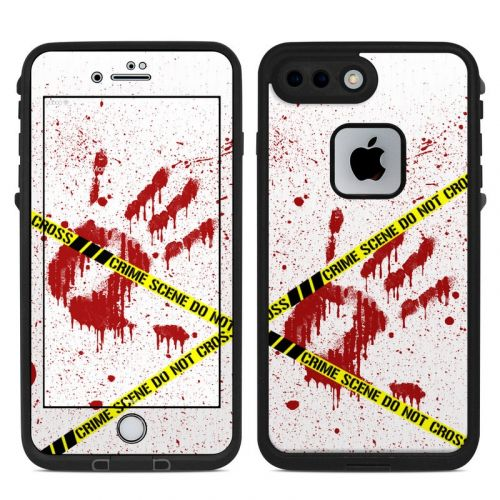 Crime Scene Revisited LifeProof iPhone 8 Plus fre Case Skin