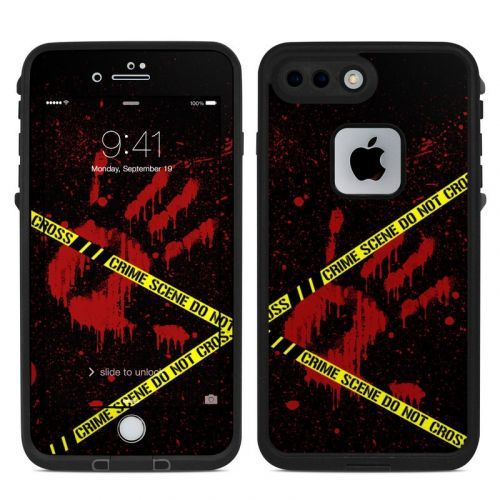 Crime Scene LifeProof iPhone 8 Plus fre Case Skin