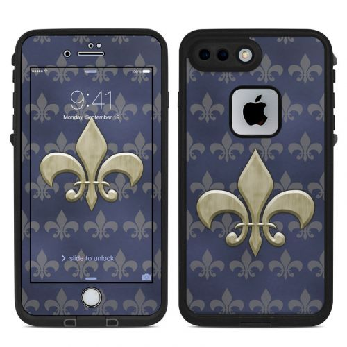 Fleur De Lis LifeProof iPhone 8 Plus fre Case Skin