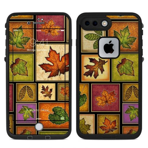 Fall Leaves LifeProof iPhone 8 Plus fre Case Skin