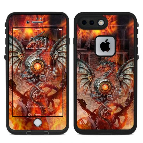 Furnace Dragon LifeProof iPhone 7 Plus fre Case Skin