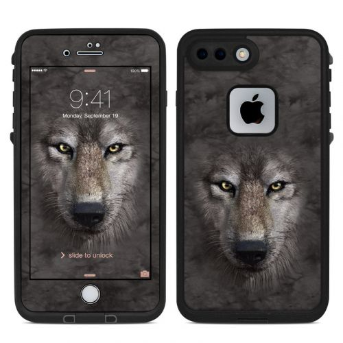 Grey Wolf LifeProof iPhone 8 Plus fre Case Skin