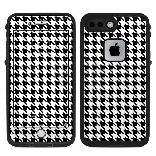 Houndstooth LifeProof iPhone 8 Plus fre Case Skin
