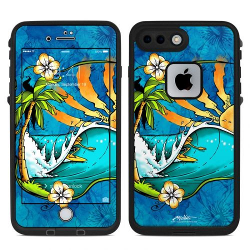 Island Playground LifeProof iPhone 8 Plus fre Case Skin