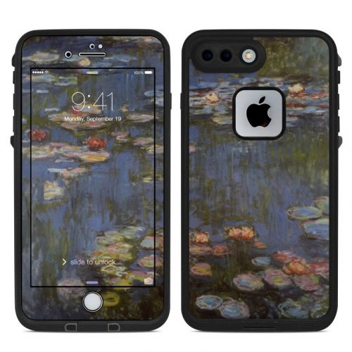 Water lilies LifeProof iPhone 7 Plus fre Skin