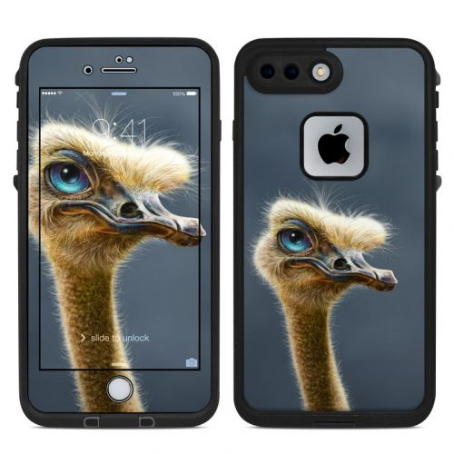 Ostrich Totem LifeProof iPhone 8 Plus fre Case Skin